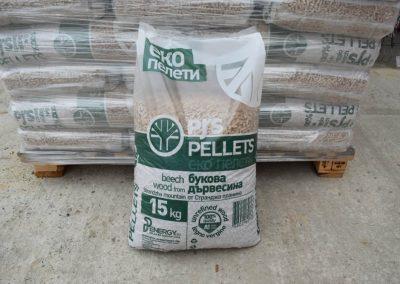 Дървени пелети PELLETS – 6мм