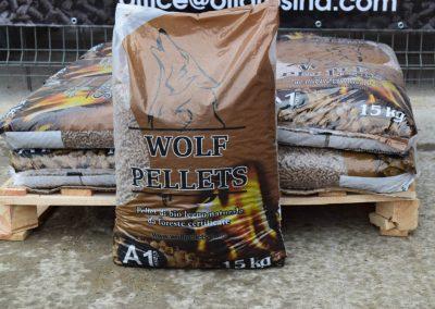 Дървени пелети WOLF – 6 мм